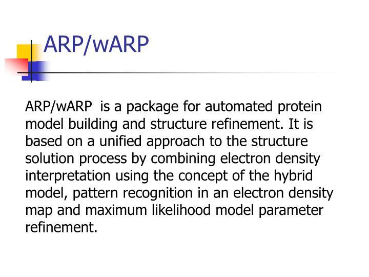 ARP/wARP