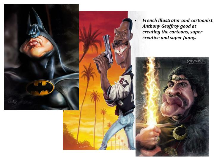 French illustrator and cartoonist Anthony Geoffroy good at creating the cartoons, super creative and...