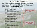 macro language 4 of 5
