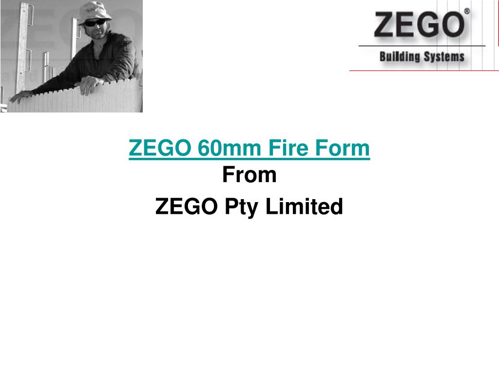 zego 60mm fire form from zego pty limited l.