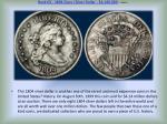 rank 03 1804 class i silver dollar 4 140 000 more