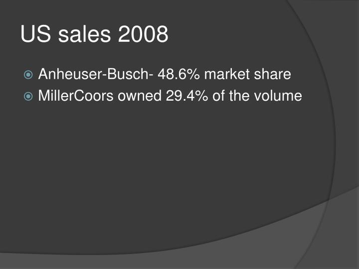 US sales 2008