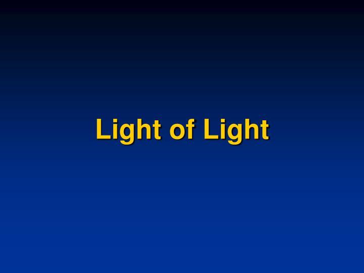 Light of Light