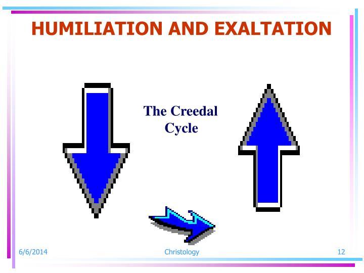 HUMILIATION AND EXALTATION