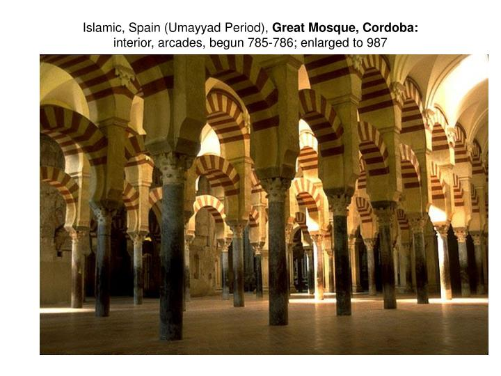 Islamic, Spain (Umayyad Period),