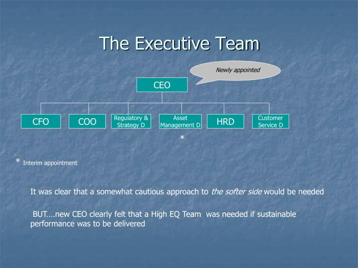 The Executive Team