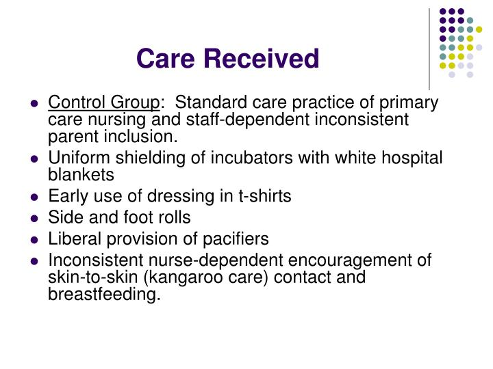 Care Received