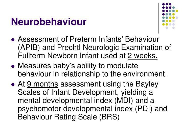 Neurobehaviour
