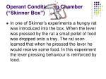 operant conditioning chamber skinner box1