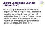 operant conditioning chamber skinner box5