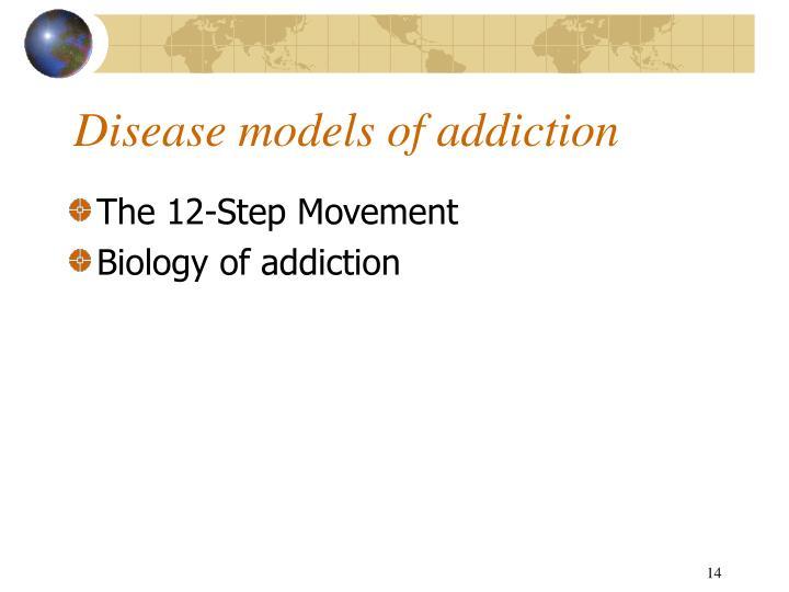 Disease models of addiction