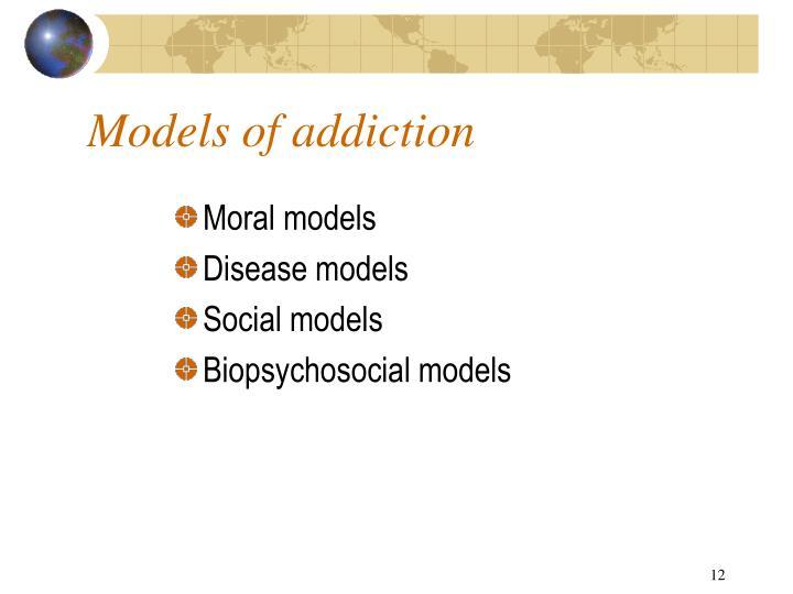 Models of addiction