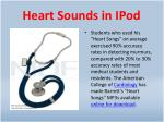 heart sounds in ipod