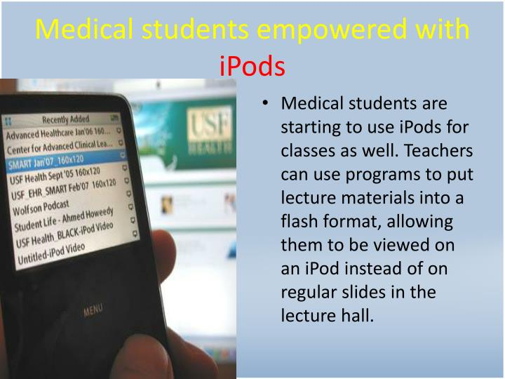 Medical students empowered with