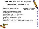 the flea from music for very little people by john feierabend p 38