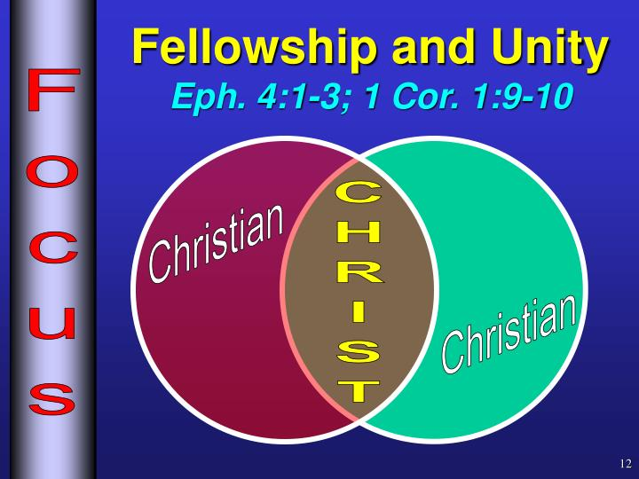Fellowship and Unity