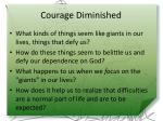 courage diminished1