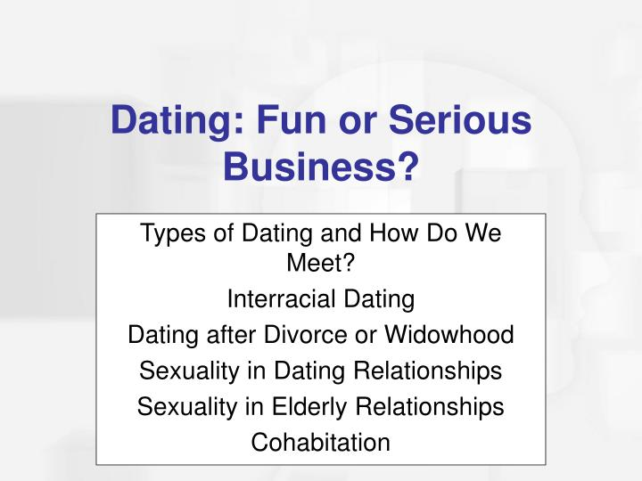 Types of Dating and How Do We Meet?