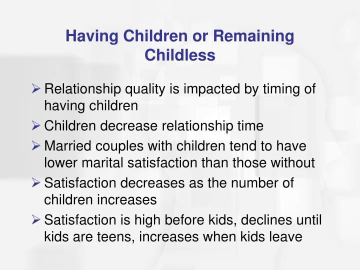 Having Children or Remaining Childless