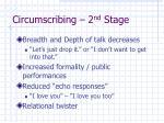 circumscribing 2 nd stage