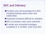 nvc and intimacy