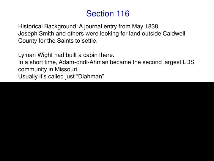 Section 116