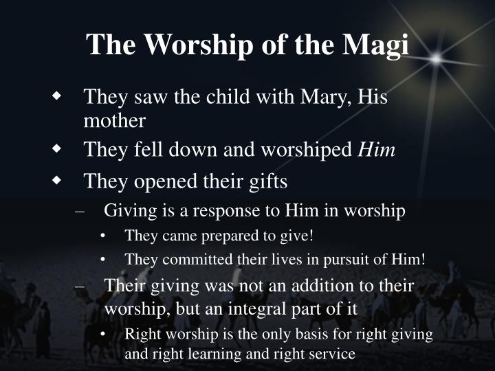 The Worship of the Magi