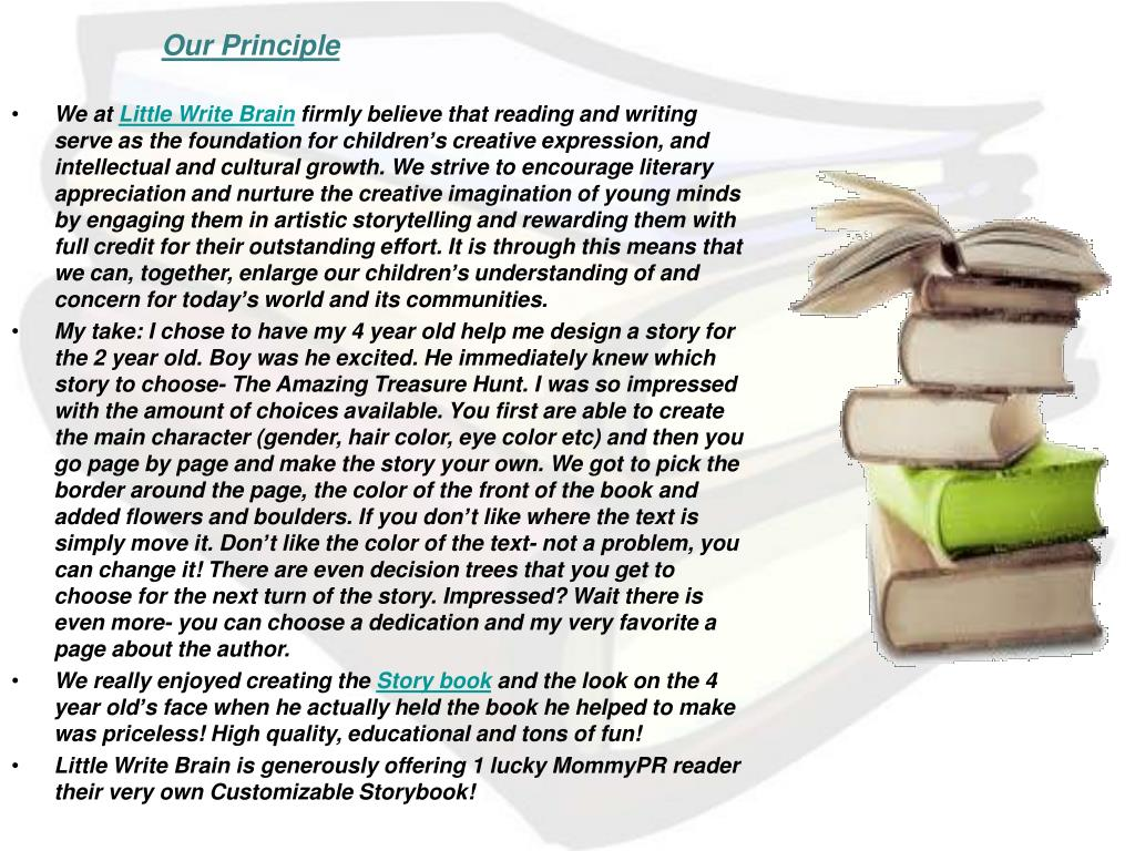 Our Principle