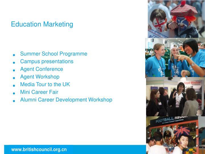 Education Marketing