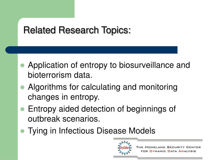 Related Research Topics: