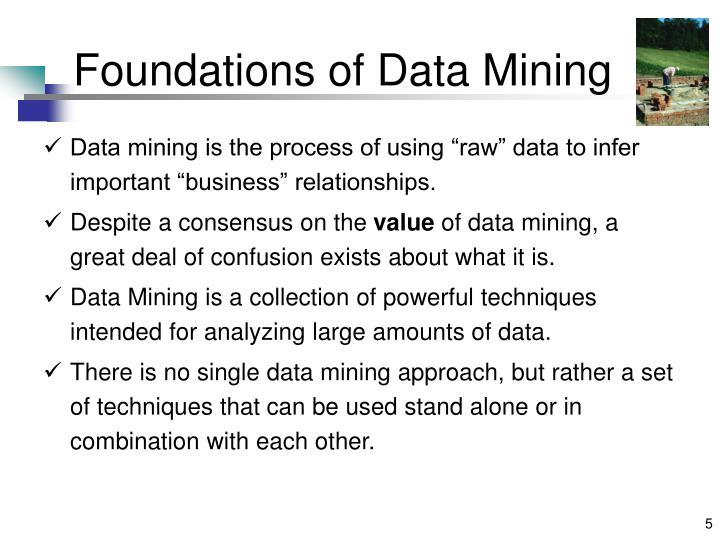 Foundations of Data Mining