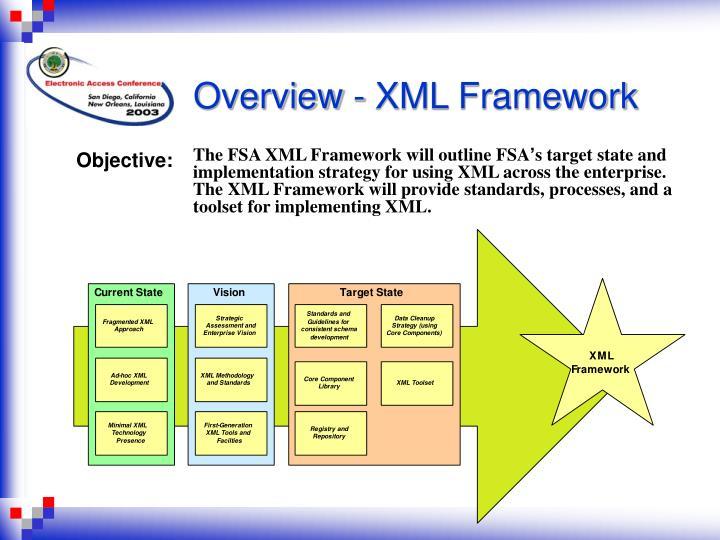Overview - XML Framework