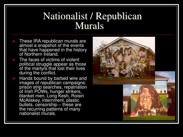 Nationalist republican murals