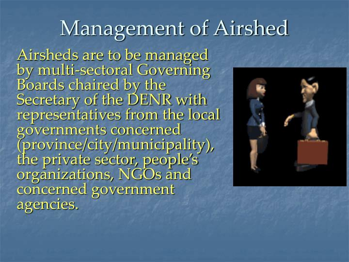 Management of Airshed
