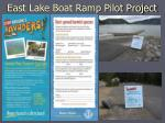 east lake boat ramp pilot project1