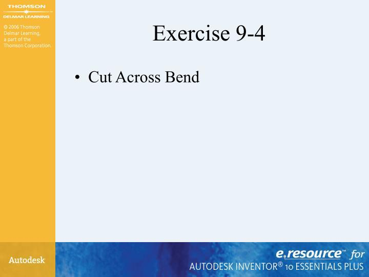 Exercise 9-4