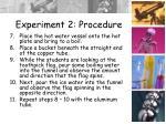 experiment 2 procedure1