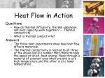 heat flow in action