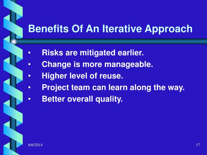 Benefits Of An Iterative Approach