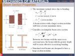 beam section properties