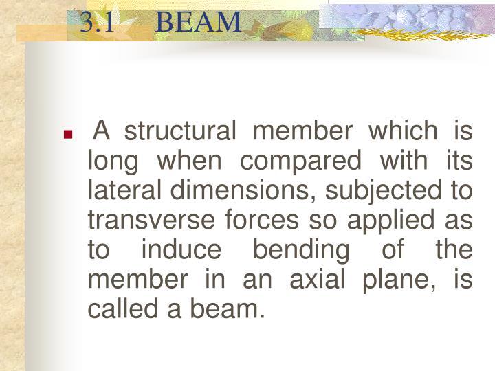 3 1 beam
