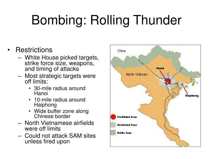 Bombing: Rolling Thunder