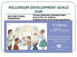 millenium development goals oun