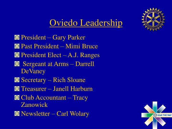 Oviedo Leadership