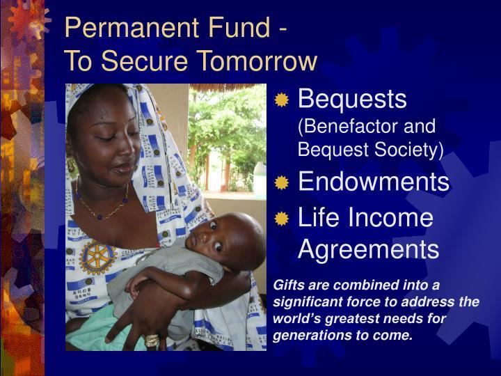 Permanent Fund -