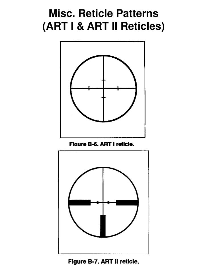 Misc. Reticle Patterns