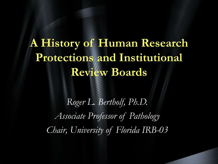 an introduction to the office of human research protection Research involving human what peer reviewers look for in the application and protection of human subjects nor the office of extramural research.