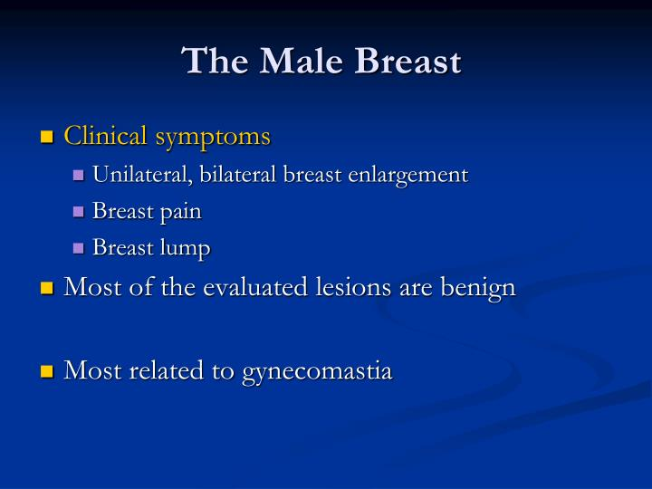 The male breast1