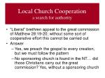 local church cooperation a search for authority2