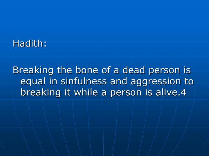 Hadith: